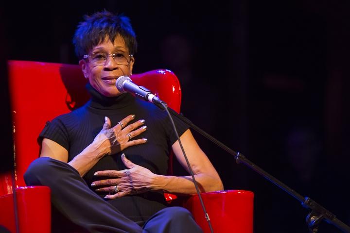 Caption: Soul Singer & Author Bettye LaVette, Credit: Jennie Baker for Live Wire!