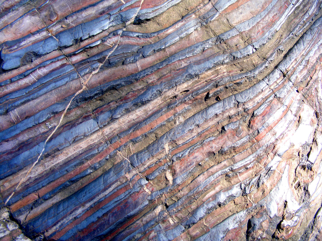 Caption: Soudan Iron Formation - Banded Iron, Credit: Britt Aamodt