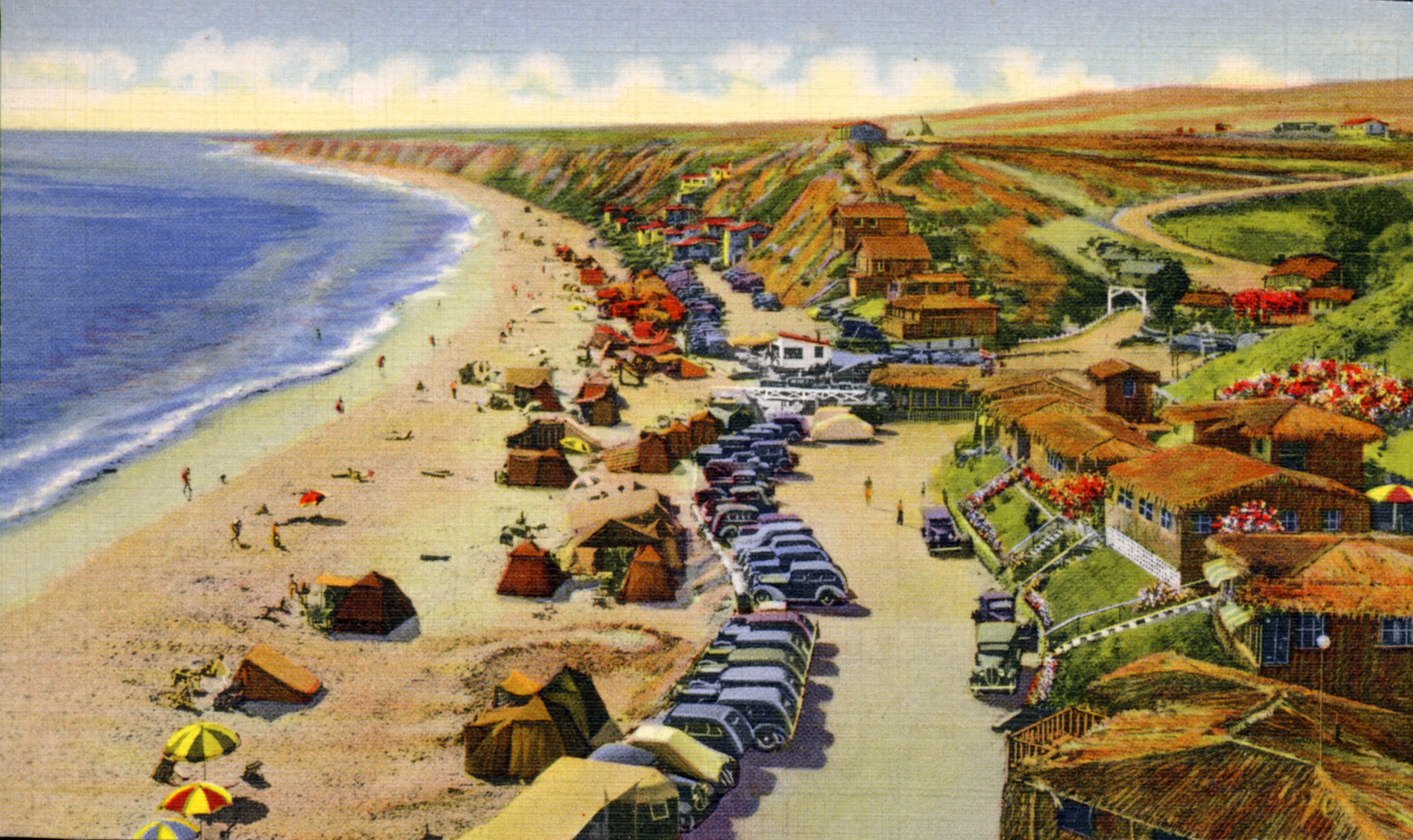 Caption: Crystal Cove in the good old days