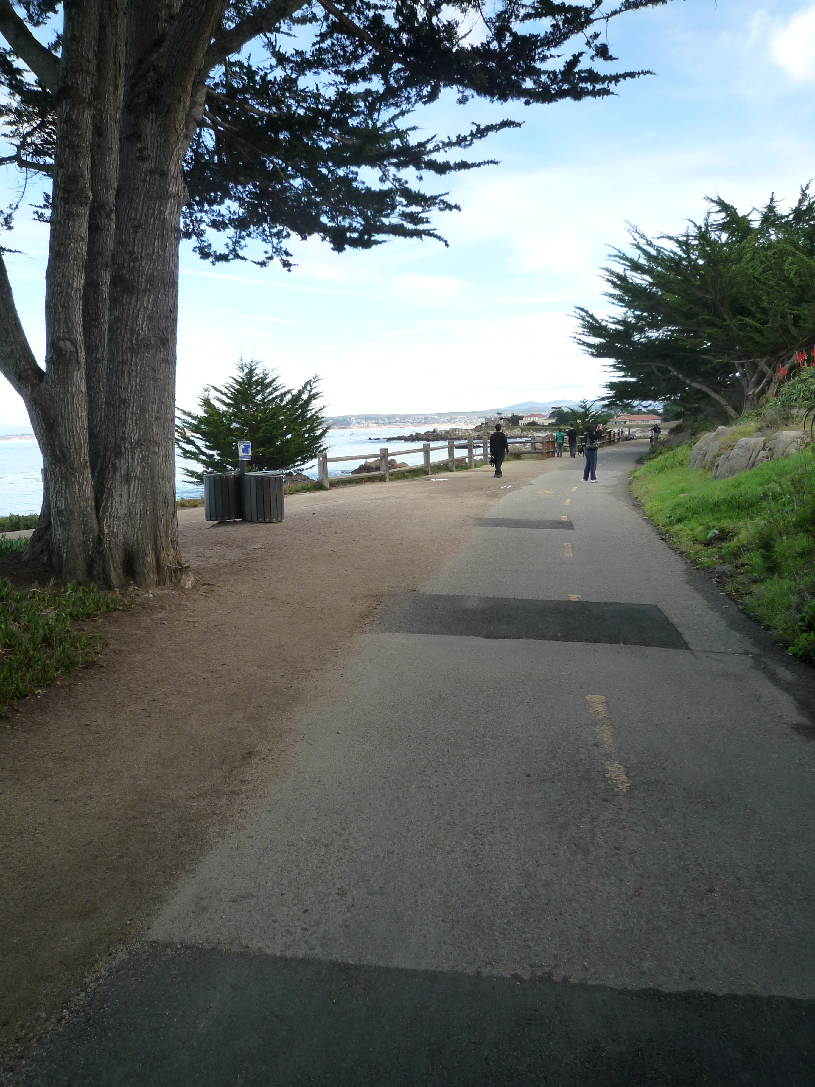 Caption: Monterey Bay Recreational Trail