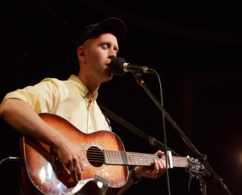 Caption: Swedish singer, Jens Lekman, Credit: Jennie Baker for Live Wire!