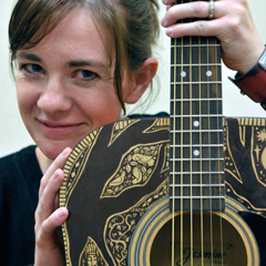 Caption: Author, Artist, Musician Maggie Stiefvater