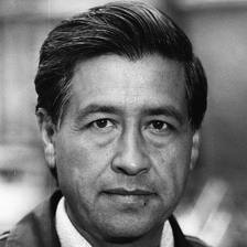 Caption: Cesar Chavez