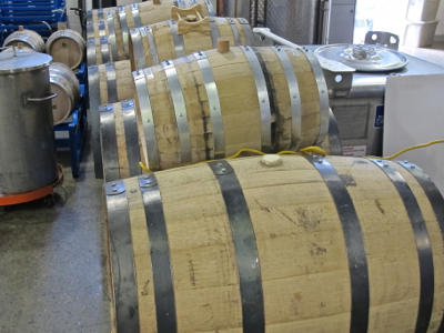 Caption: Whiskey in the barrel, Credit: Hal B. Klein