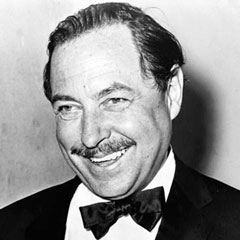 Caption: Tennessee Williams