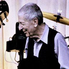 Caption: Leonard Cohen