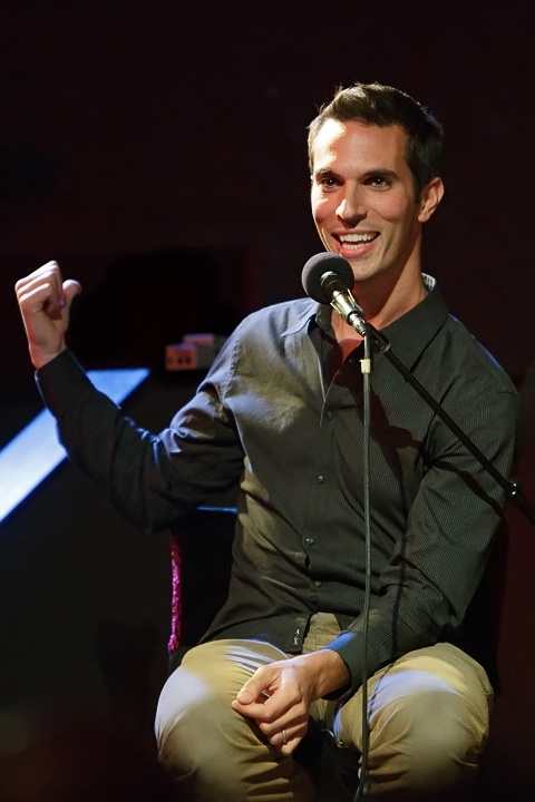 Caption: NPR's White House Correspondent Ari Shapiro, Credit: Jennie Baker for Live Wire!