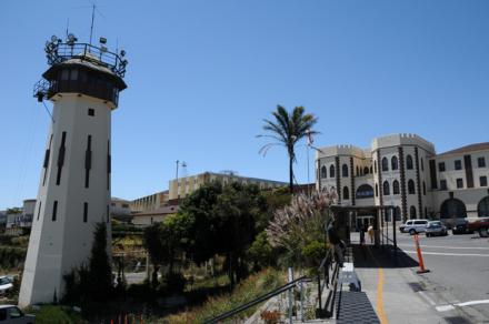 Caption: San Quentin State Prison