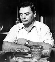 "Caption: Ernest Borgnine as ""Marty"""