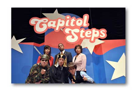 Caption: The Capitol Steps, Credit: Capitol Steps