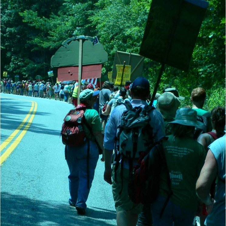 Caption: March on Blair Mountain, June 2011, Credit: Talking Across the Lines