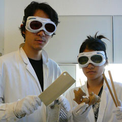 Caption: Dr. Rhee's Food Lab, Credit: Kate Hers