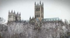 Caption: The historic Washington National Cathedral