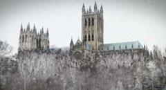 Caption: The historic Washington National Cathedral