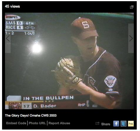 "Caption: Mr. Badey's ""glory days"", Credit: ESPN"