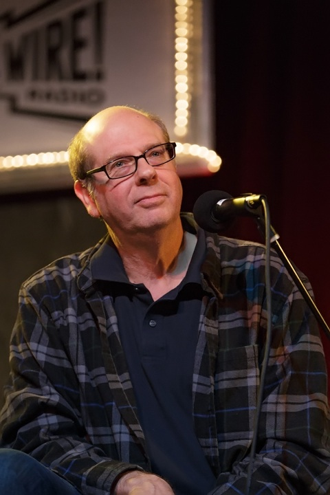 Caption: Actor & Author Stephen Tobolowsky, Credit: Jennie Baker for Live Wire!
