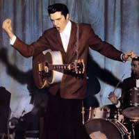 Elvis Presley (born Jan 8 1935 Tupelo, Mississippi; died Aug 16 1977