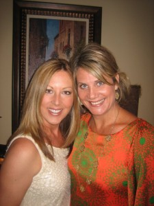 Caption: Amy Sorter (l) and Michele Bunch (r), Co-Founders of EcoSavvyMoms