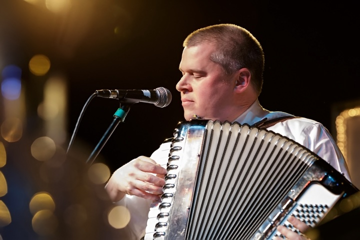 Caption: Daniel Handler a.k.a. Lemony Snicket, Credit: Jennie Baker for Live Wire!