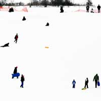 Caption: The Sledding Hill by Tabbymom, on Flickr