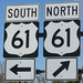 Caption: North or south, Highway 61 is America's &quot;Blues Highway&quot;