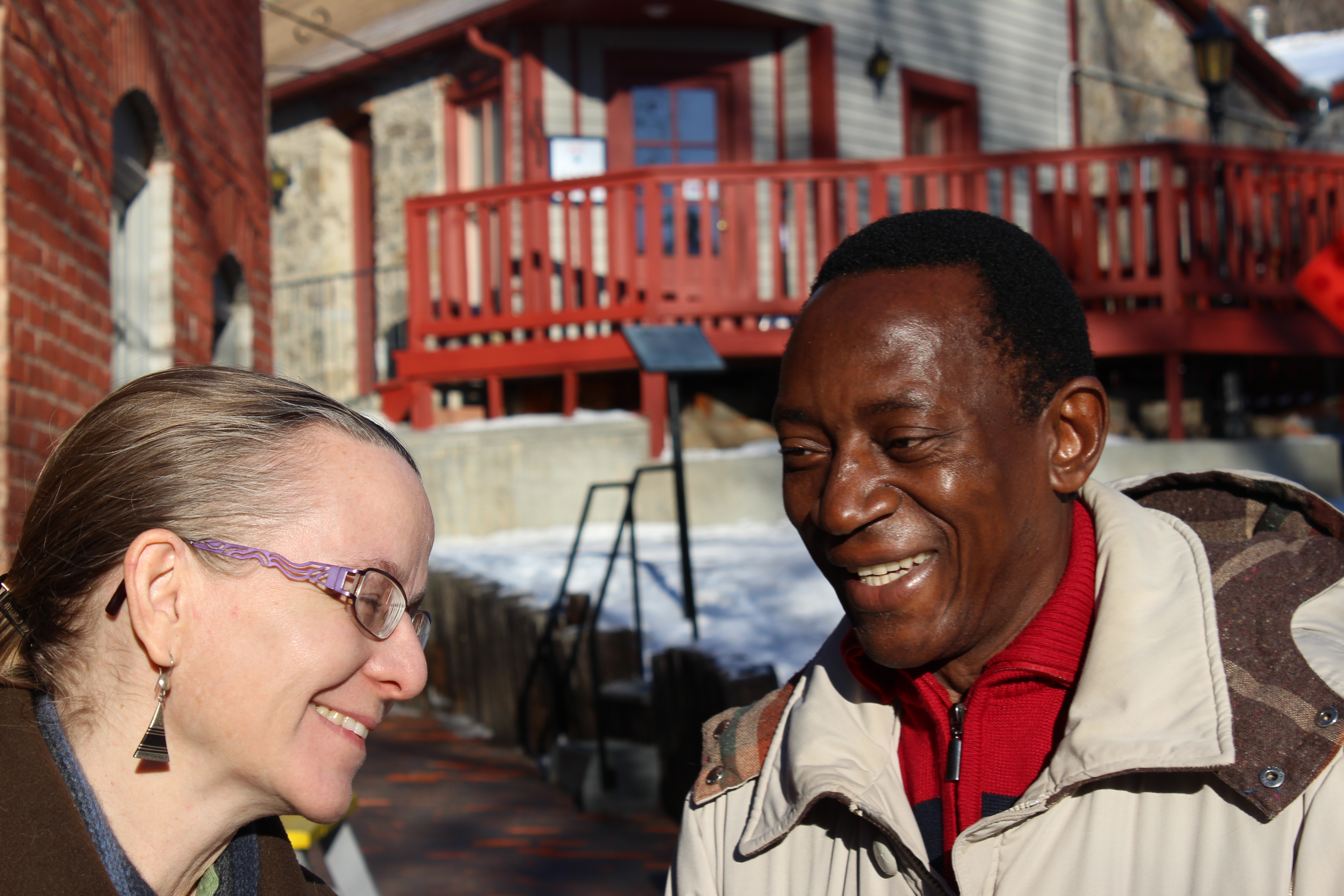 Caption: Anne & Willie Langji, Helena, Montana, Credit: Clay Scott