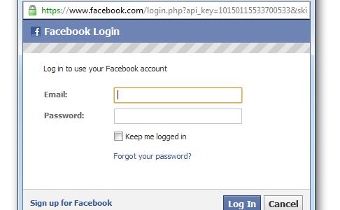 Facebook Login Sign In To Facebook