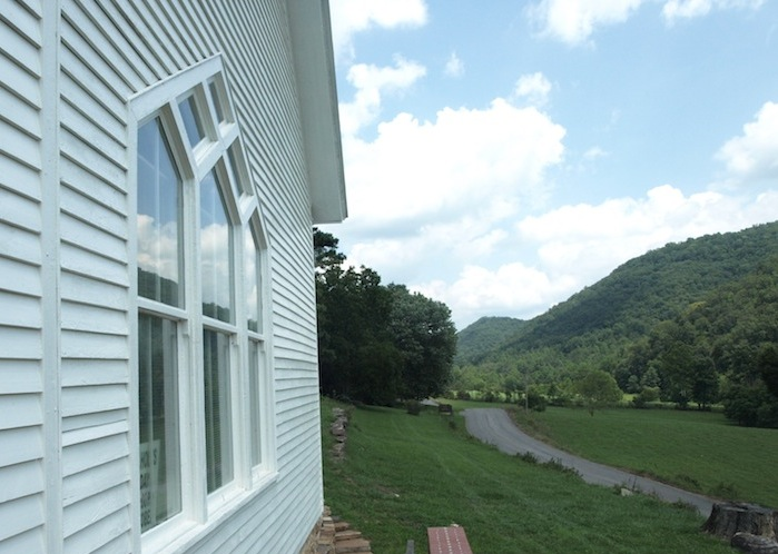 Caption: The Presbyterian church in Vardy, Tennessee, was a community center for some Melungeon families. , Credit: Mary Helen Miller