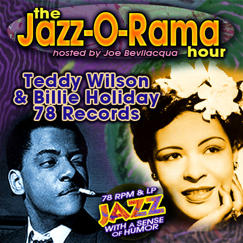 Caption: Joe Bev hosts an hour of Teddy Wilson & Billie Holiday 78s., Credit: Lorie B. Kellogg