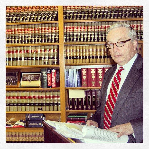 Caption: Justice John W. Sweeny, Jr.