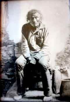 Caption: John Beargrease, circa 1890, Credit: courtesy Ron Boshey