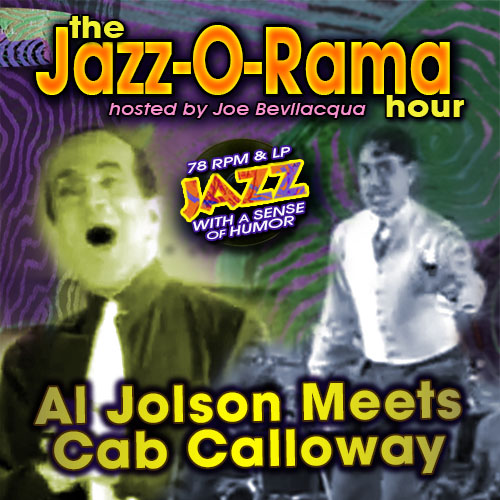 "Caption: Joe Bev presents 78 RPM Jazz with a Sense of Humor: ""Al Jolson Meets Cab Calloway"", Credit: Lorie B. Kellogg"