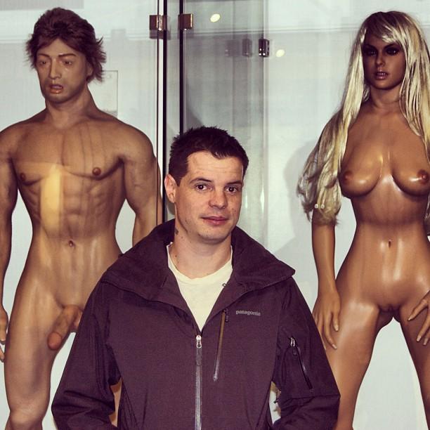 "Caption: ""Crazy James"" Zinkand at MoSex NYC"