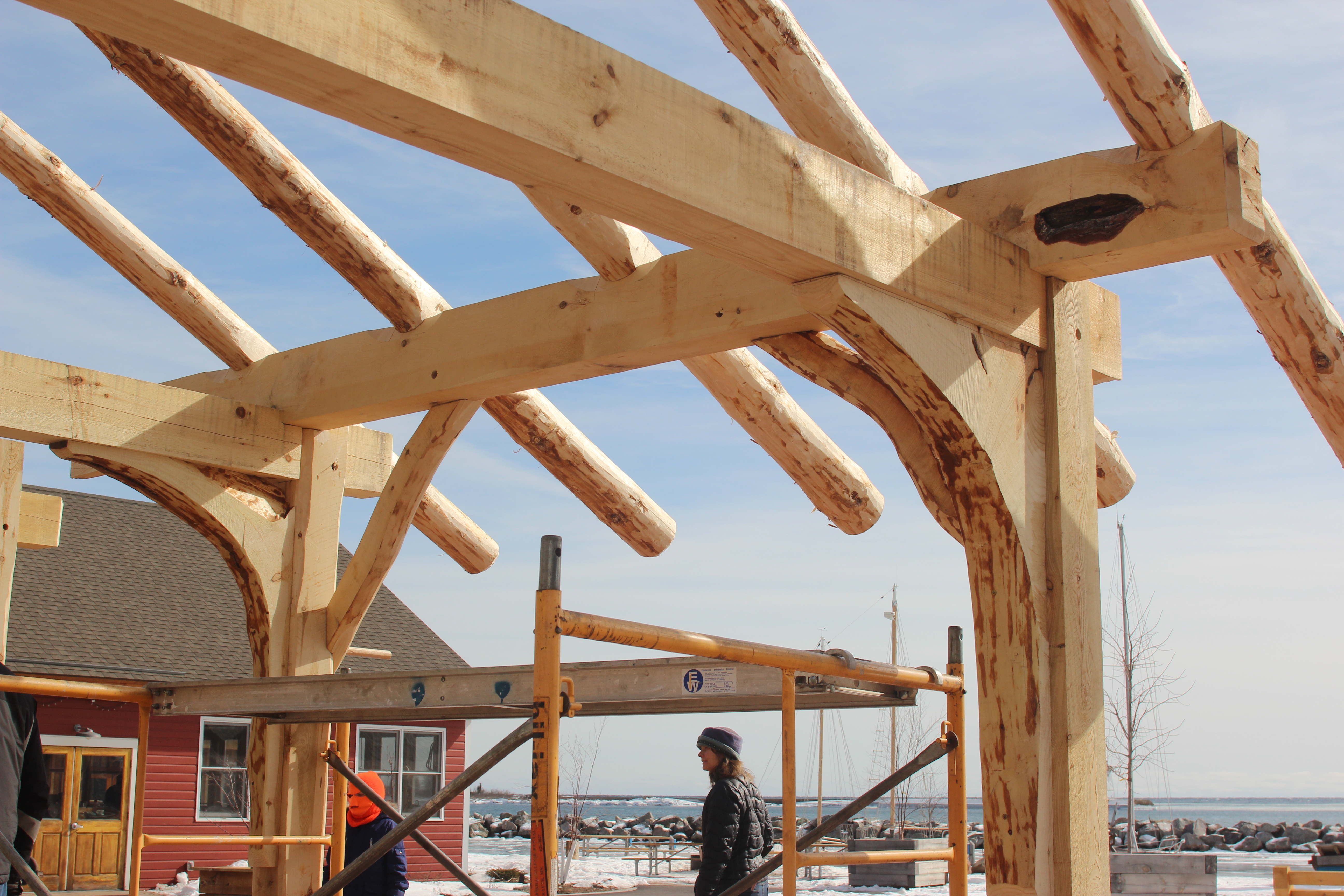 Prx for Building a timber frame house
