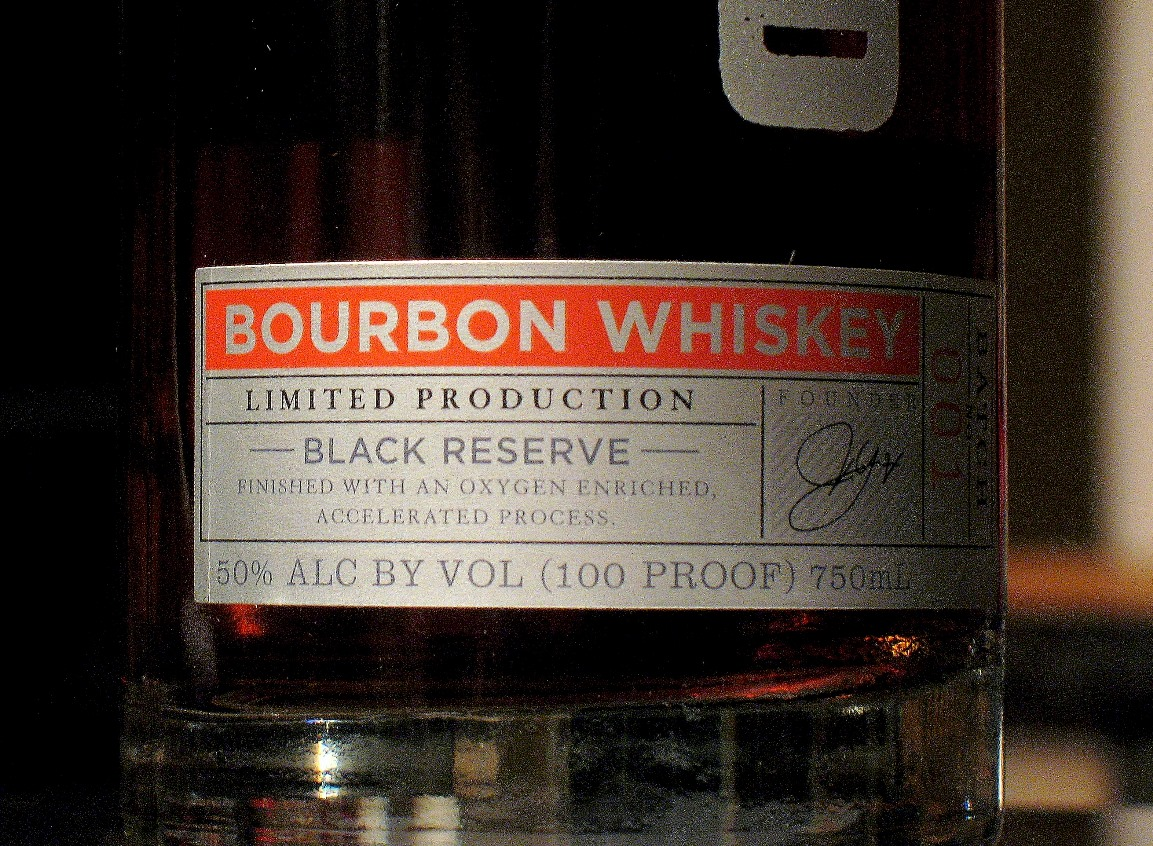 Caption: Close-up of Cleveland Whiskey label., Credit: Brian Bull, ideastream