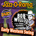 "Caption: ""Early Western Swing"" 78s on Jazz-O-Rama, Credit: Lorie B. Kellogg"