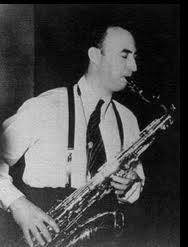 "Caption: Milton ""Mezz"" Mezzrow"