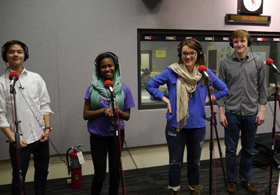 Caption: Walter Payton College Prep Poetry Team, Credit: (WBEZ/file)