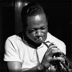 Caption: Philadelphia trumpeter Clifford Brown
