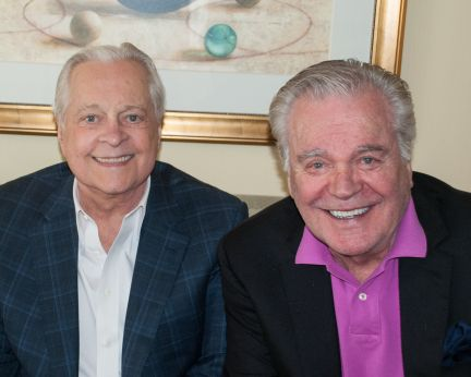 Caption: Robert Osborne and Robert Wagner, San Francisco, CA 4/16/13, Credit: Andrea Chase