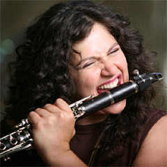 Caption: Israeli saxophonist and clarinetist Anat Cohen , Credit: Osnat Rom