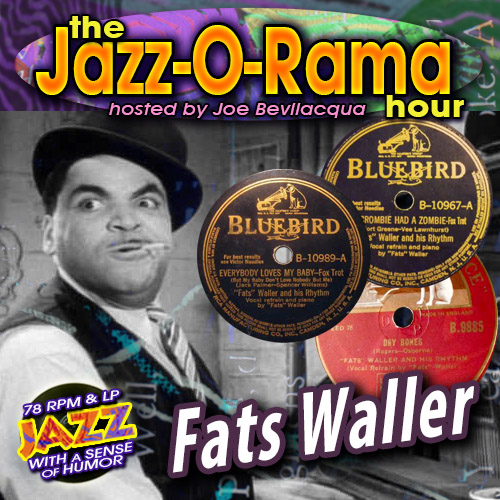 Caption: Remastered Fats Waller 78s on Jazz-O-Rama, Credit: Lorie B. Kellogg