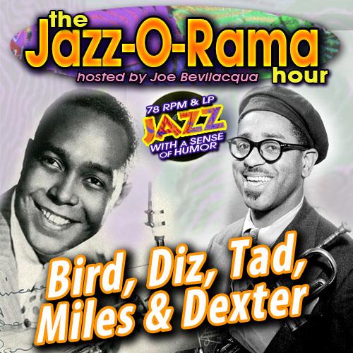 Caption: Remastered Bebop 78s on Jazz-O-Rama, Credit: Lorie B. Kellogg
