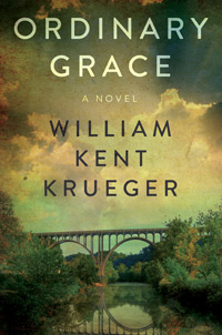 "Caption: ""Ordinary Grace"" by Willian Kent Krueger"