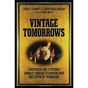 Caption: Vintage Tomorrow's jacket cover, Credit: O'Reilly Media, Inc.