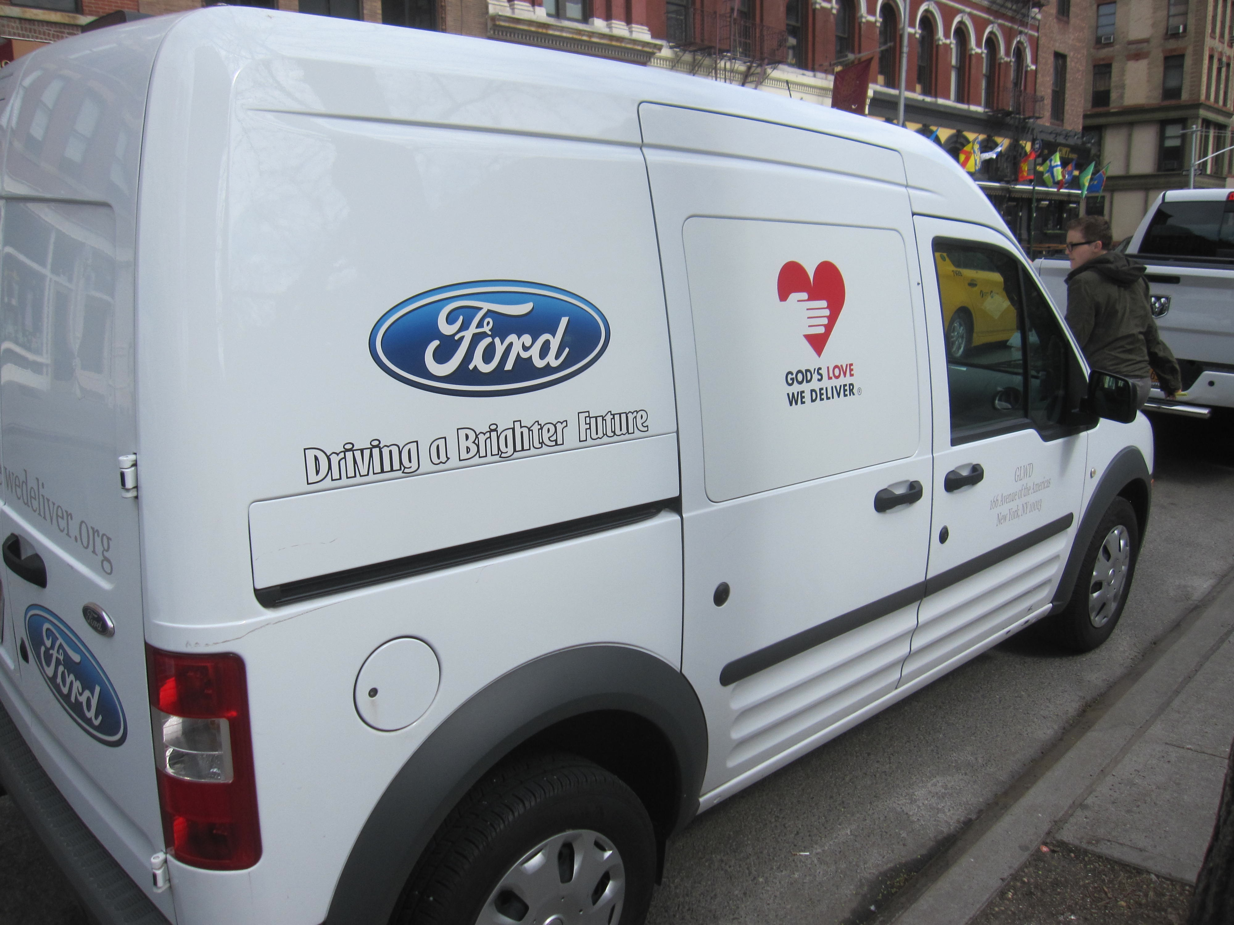 Caption: Ford Transit Connect