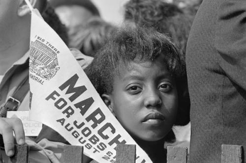 Caption: Edith Lee-Payne at the March on Washington, 1963, Credit: Photo: Roland Scherman