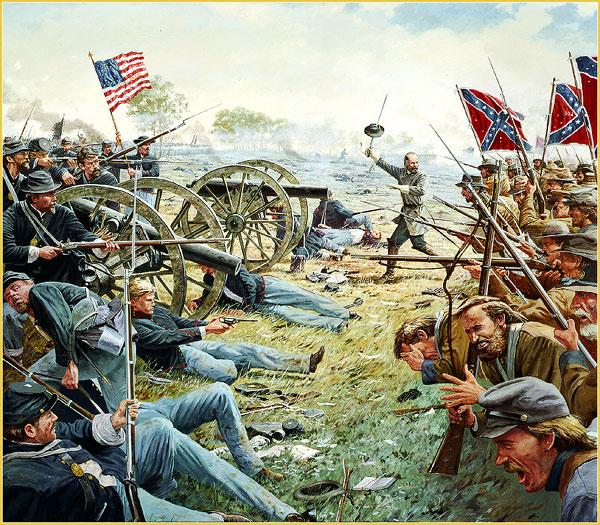 the details of the infamous battle of gettysburg