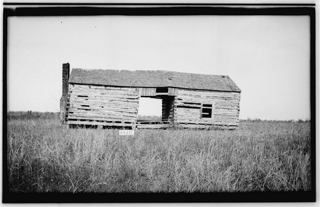 Caption: Tom Ireland House in 1937, Webberville, TX , Credit: Library of Congress