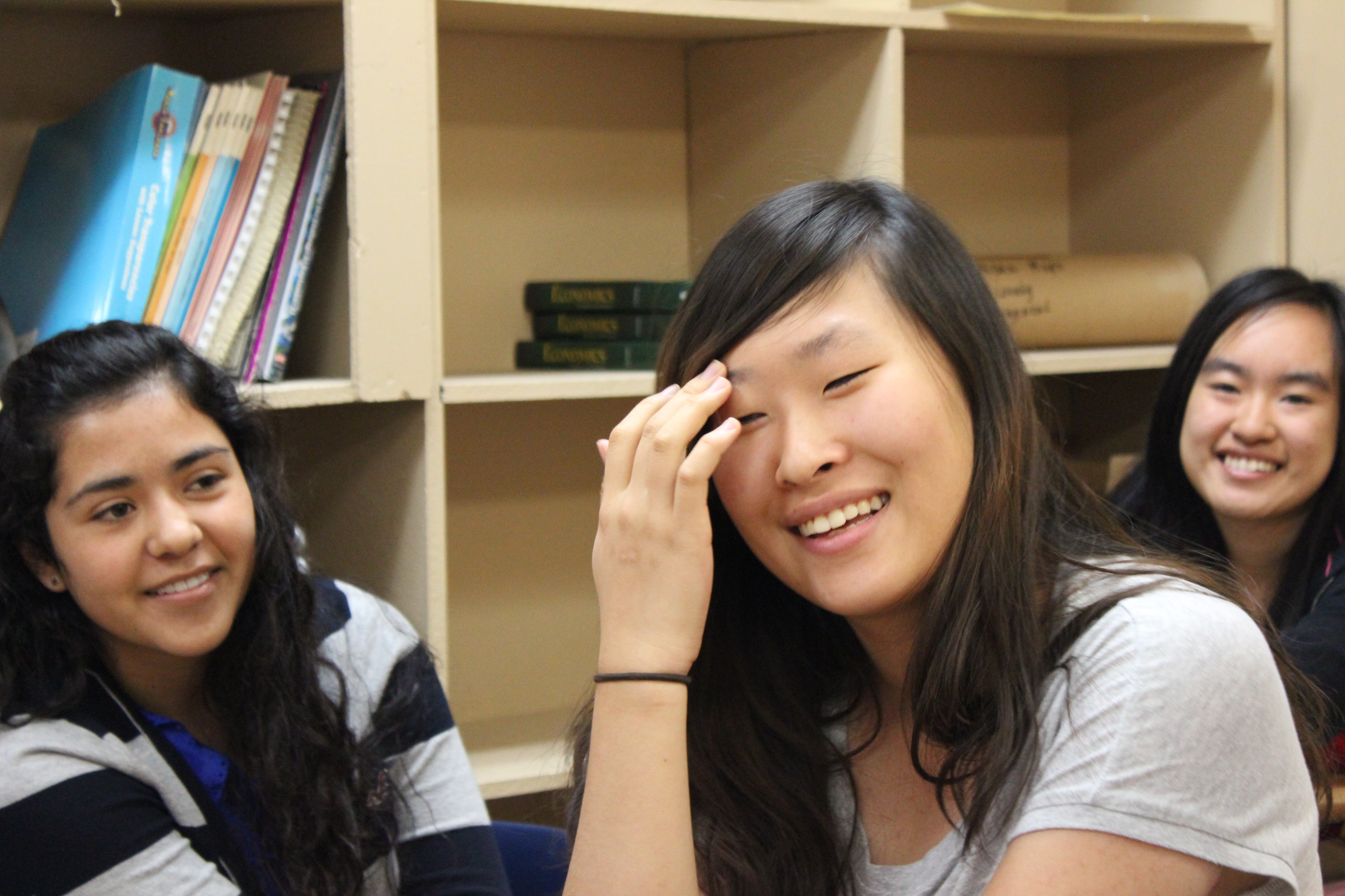 Caption: Exchange Students, Judith Gap, MT, Credit: Clay Scott